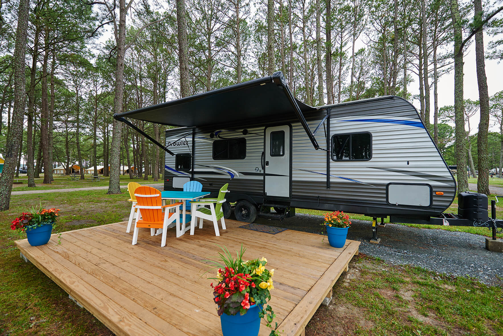 RV Rental Chincoteague Island KOA
