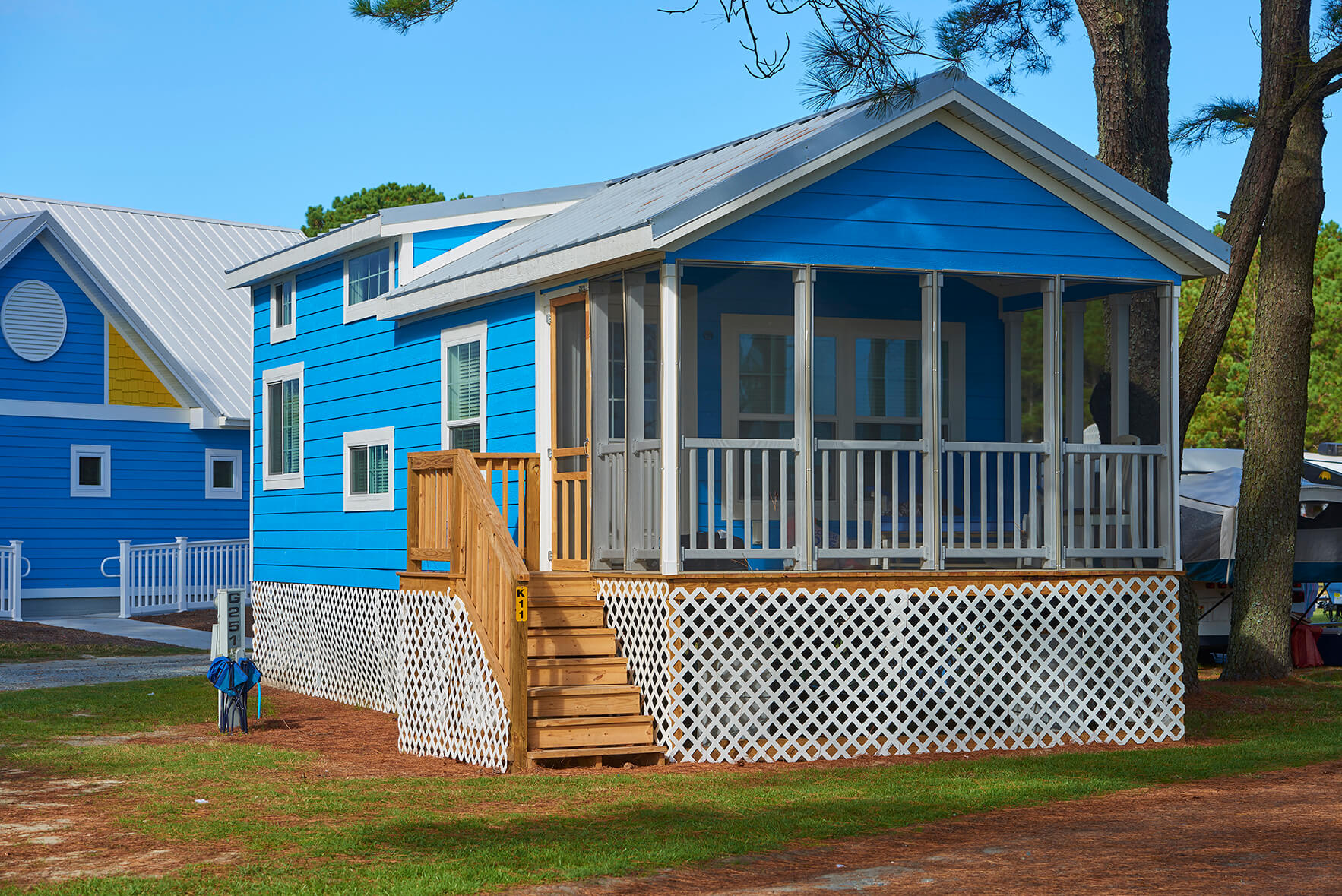 island bungalow Chincoteague Island KOA