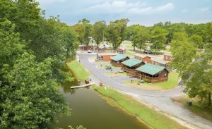Fort Whaley Campground in Whaleyville, MD, just a short drive to Ocean City, MD